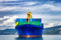 Cargo Ship Royalty Free Stock Image - 79994306