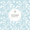 Vector Background For Natural Handmade Soap, Decorative Paper Royalty Free Stock Photo - 79997985
