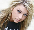 Blonde Young Woman Stock Photo - 800610