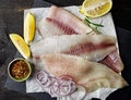Fresh Raw Fish Fillets Royalty Free Stock Photography - 80001027