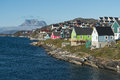 Nuuk, The Capital Of Greenland Royalty Free Stock Photo - 80016055