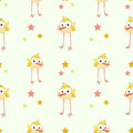 Funny Texture With Comic Yellow Bird Royalty Free Stock Photo - 80024805