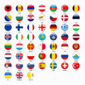 Set Of Flags Of All Countries Of Europe Stock Photography - 80050762