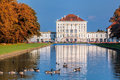 Nymphenburg Palace With The Royal Garden In Munich, Germany Royalty Free Stock Photography - 80082327