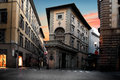 Unusual House In Florence Stock Photo - 80088400