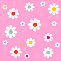 Seamless Flower Background Stock Photography - 8018882