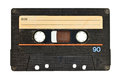 Old Audio Tape Cassette Stock Photos - 80101593