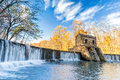 Speedwell Dam Waterfall Royalty Free Stock Images - 80103449