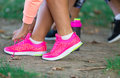 Young Sportive Woman Getting Ready To Start Running Workout Stock Image - 80139541