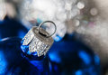 Close-up Of Christmas Balls On The Background Of Christmas Light Royalty Free Stock Image - 80140786