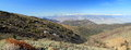 White Mountain Road And Sierra Nevada, California, Panorama Stock Photo - 80177060