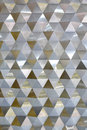 Vertical Restaurant Wall Background With Triangle Pattern Stock Photos - 80179203