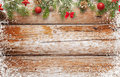 Christmas Background Image. Wooden Table With Free Space For Text Stock Images - 80187324