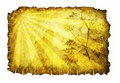 Very Old Parchment Paper Royalty Free Stock Images - 8025239