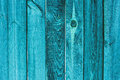 Background And Texture Concept Old Wooden Turquoise Fence Stock Photo - 80201220