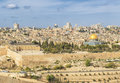 Panoramic View To Jerusalem Old City And The Temple Mount Stock Photos - 80258823