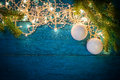 Christmas Garland Lights Royalty Free Stock Image - 80273466