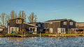 Holiday Resort On The Waterfront Of Lake Stock Photos - 80294003
