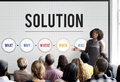 Solution Problem Solving Share Ideas Concept Stock Images - 80326054