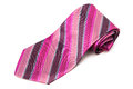 Pink Striped Tie Stock Photography - 80339892