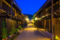 Centered Wooden Houses Hida-Takayama Old Town Royalty Free Stock Photo - 80361255