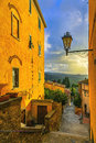 Castagneto Carducci Old Stone Village In Maremma. Picturesque Fl Royalty Free Stock Photo - 80362935