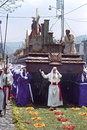 Bearers Carrying Shrine During Holy Week Procession Stock Photos - 80372633