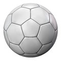 Soccer Ball Isolated On White Royalty Free Stock Photo - 80380985