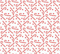 Christmas Seamless Pattern With Candy Cane. Christmas Background. Christmas Seamless Texture, Wallpaper, Fabric. Vector Illustrati Stock Photography - 80385202