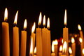 Candles In The Church Stock Image - 80397971