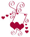 Heart Valentine Vector Illustration Stock Photos - 8040163