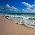 Beautiful Beach And Sea Royalty Free Stock Images - 8042489