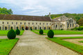 The Abbey Of Fontenay Stock Images - 80401374