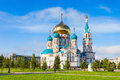 The Dormition Cathedral, Omsk Royalty Free Stock Images - 80403589