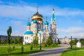 The Dormition Cathedral, Omsk Stock Image - 80403611