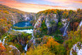Waterfalls In Plitvice National Park Stock Photo - 80417940