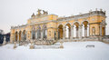 Vienna - Gloriette From Schonbrunn Palace In Winter Stock Images - 80433734