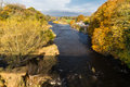 River Wye In Autumn At Hay On Wye Stock Photography - 80454752