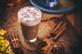 Chai Tea Latte Royalty Free Stock Photography - 80463677