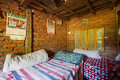 Nepalese Farmhouse Beds Royalty Free Stock Photo - 80475395