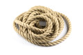 Twisted Thick Rope Stock Image - 80497761