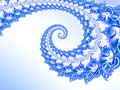 Blue And Purple Glitter Fractal Stock Photography - 80509132