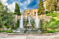 The Fountain Of Neptune, Villa D Este, Tivoli, Italy Stock Images - 80509384