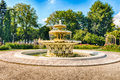 Scenic Fountain Inside Gorky Park, Moscow, Russia Royalty Free Stock Photography - 80509477