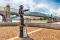 Diver S Monument On Pushkin Embankment In Central Moscow, Russia Royalty Free Stock Image - 80509486