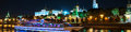 Aerial View Of Kremlin At Night In Moscow, Russia Royalty Free Stock Photos - 80546558