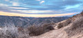 Top Of The World Hiking Trail Royalty Free Stock Photo - 80572365