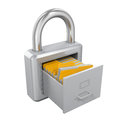 Archive Padlock Stock Photography - 80587682