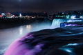 Niagara Falls Light Show Royalty Free Stock Photo - 80588105