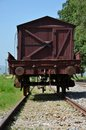 Vintage Pakistan Railways Freight Car On Rails At Railway Museum Islamabad Stock Photography - 80589882